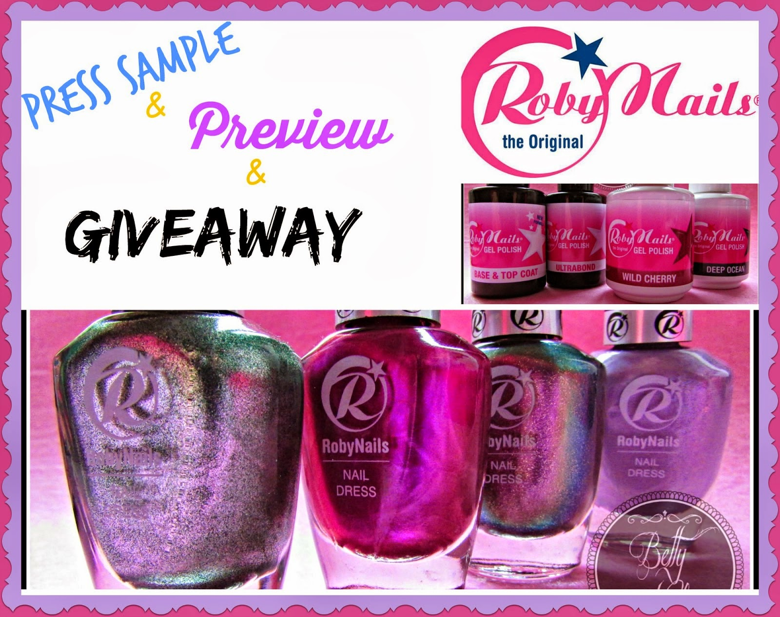 Roby Nails PREVIEW and GIVEAWAY