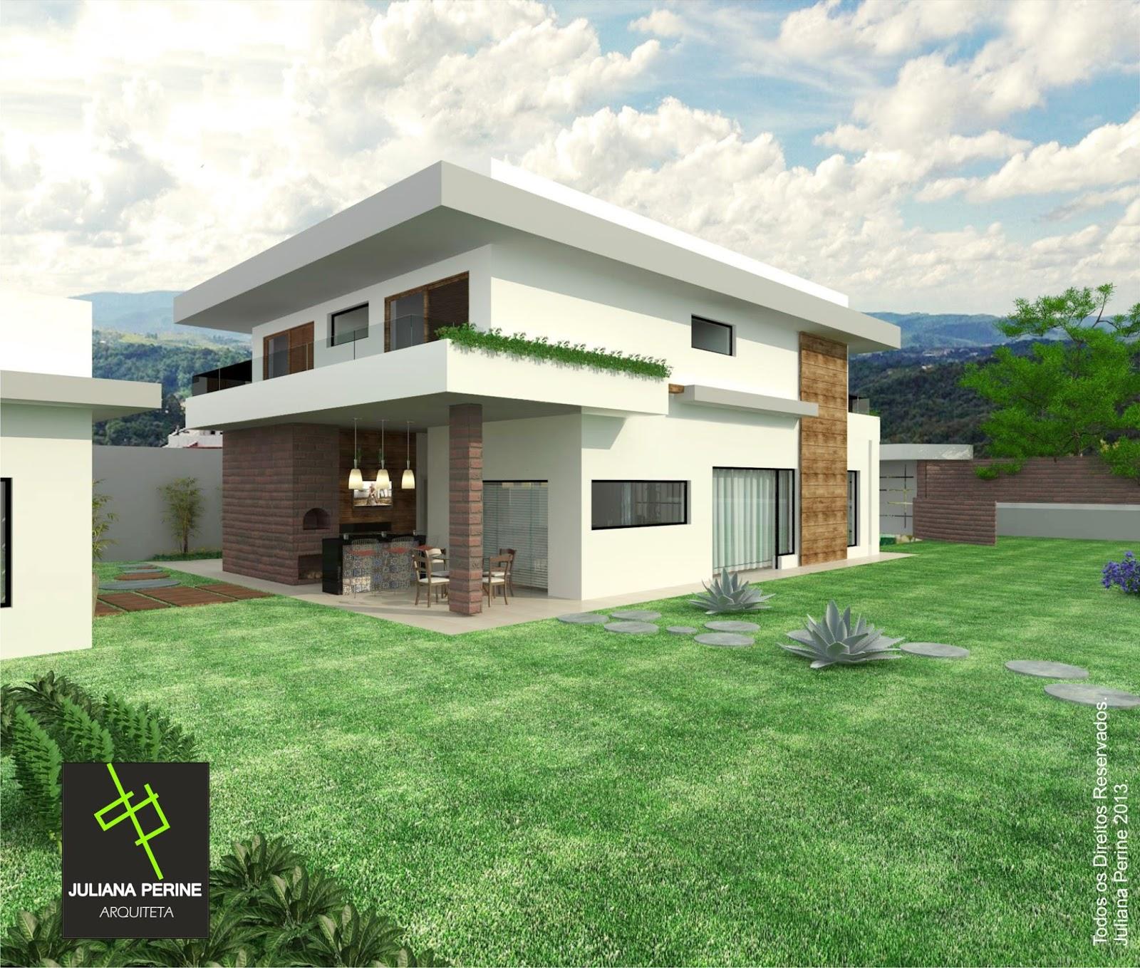 #467333  Moderno x Sustentável [Projeto Residencial em Piracicaba SP 1202 Portas E Janelas De Madeira Em Uniao Da Vitoria