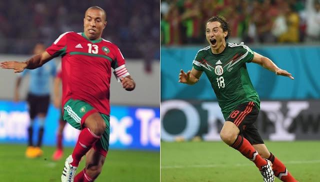 Mexico vs Marruecos en vivo