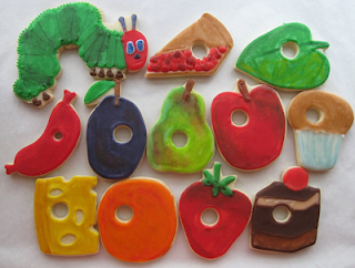 22 The Very Hungry Caterpillar inspired food creations by Cute Foods for Kids