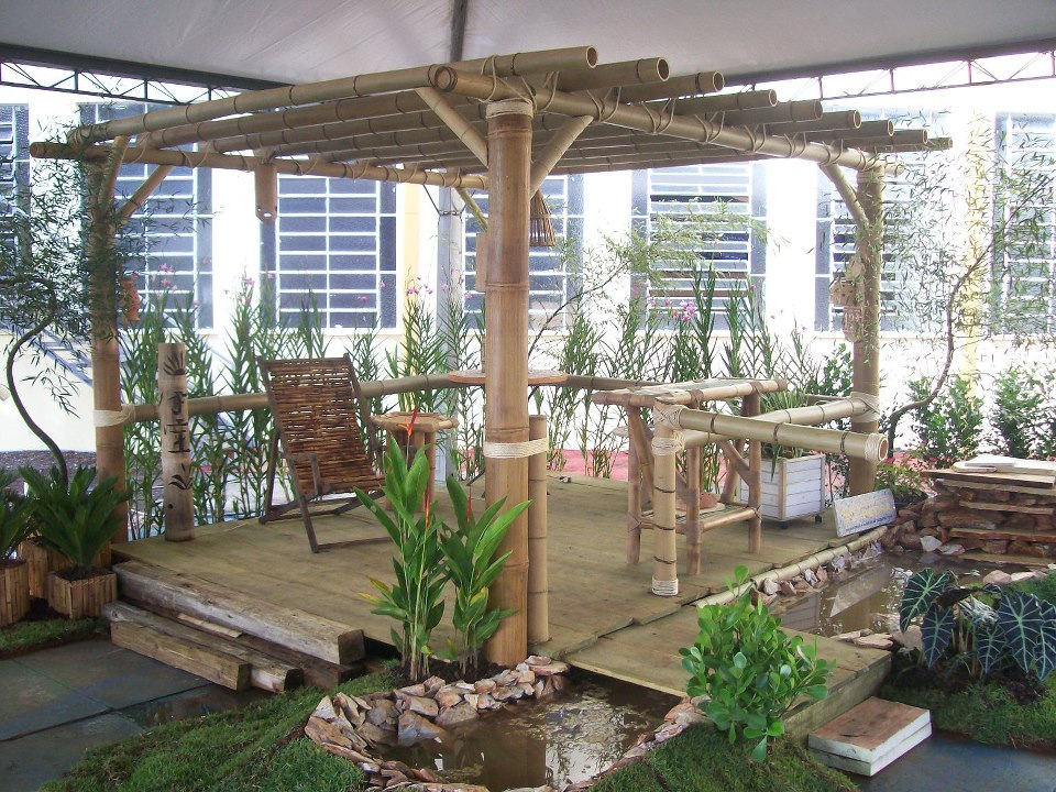 Bambushow pergolados - Pergolas de bambu ...