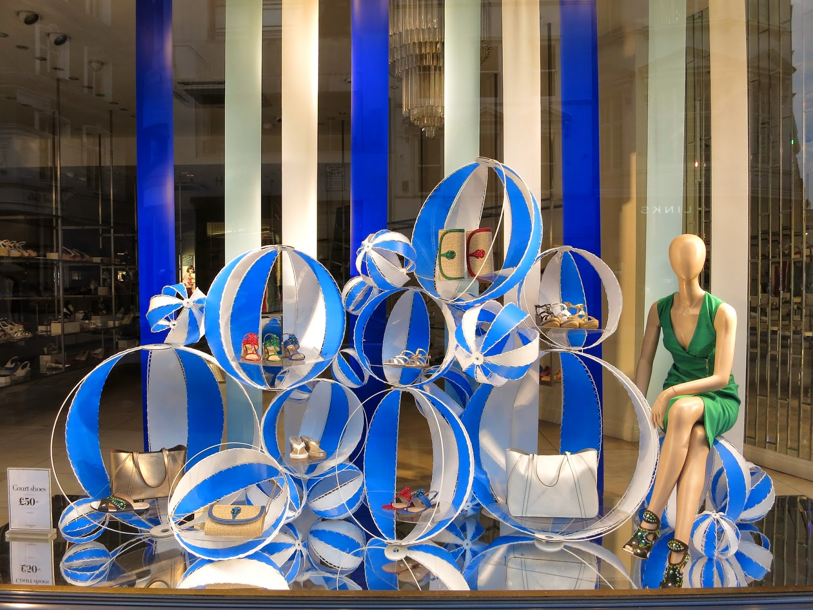 L K Bennett Flossie D Orsay Court Shoes Marshmallow