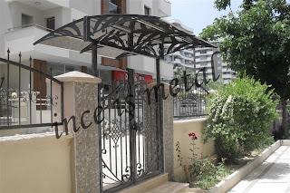 Ferforje bahce giriş kapısı model 5
