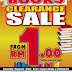 3 - 12 April 2015 Books Clearance Sale