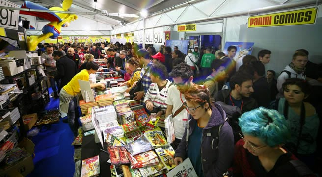 GLI INCONTRI PANINI COMICS E WALT DISNEY  A LUCCA COMICS AND GAMES 2014