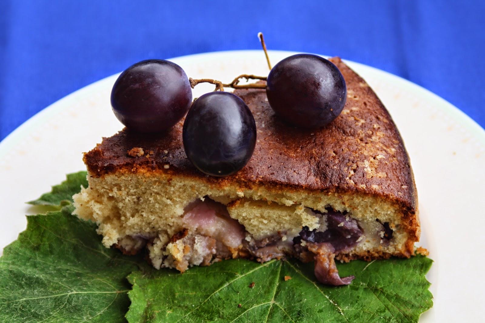 #20 torta soffice di uva nera al marsala - stagioniamo d'autunno