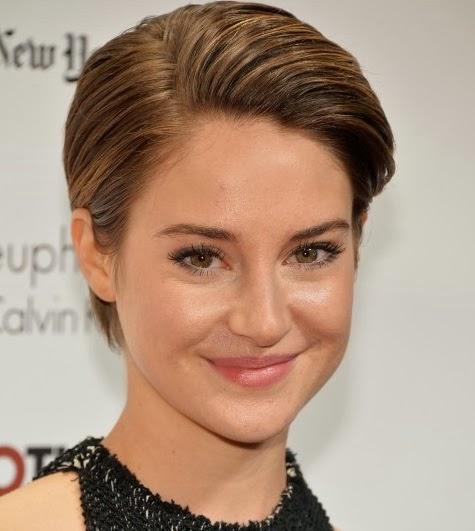 Shailene Woodley Valentine day make up