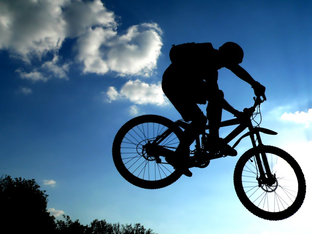 Mountain biking images