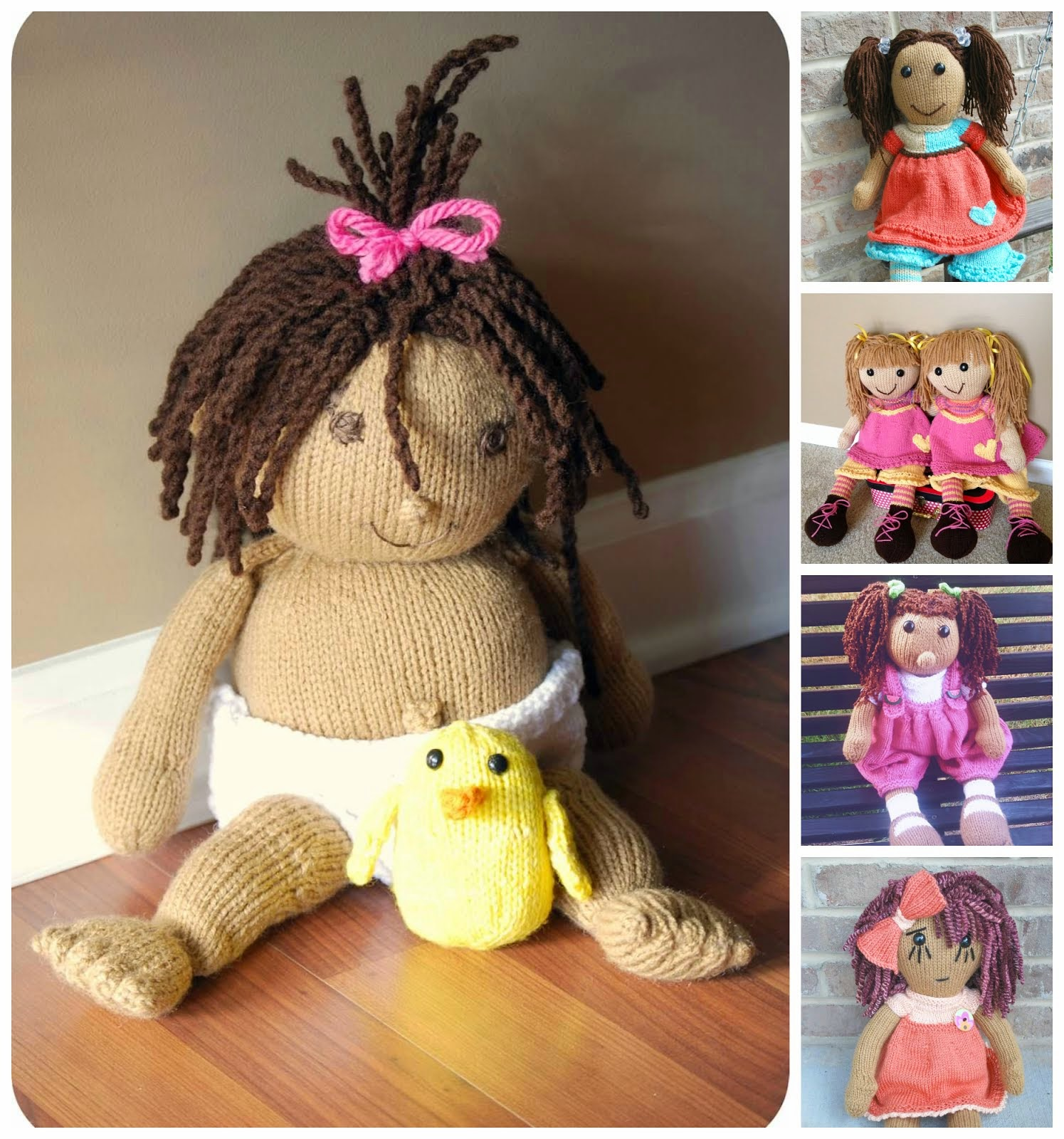 I Make Dolls - Unique Hand Knit Dolls