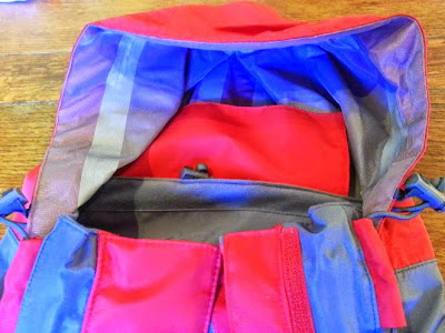 Trespass Ladies Rain coat Review. Inside hood
