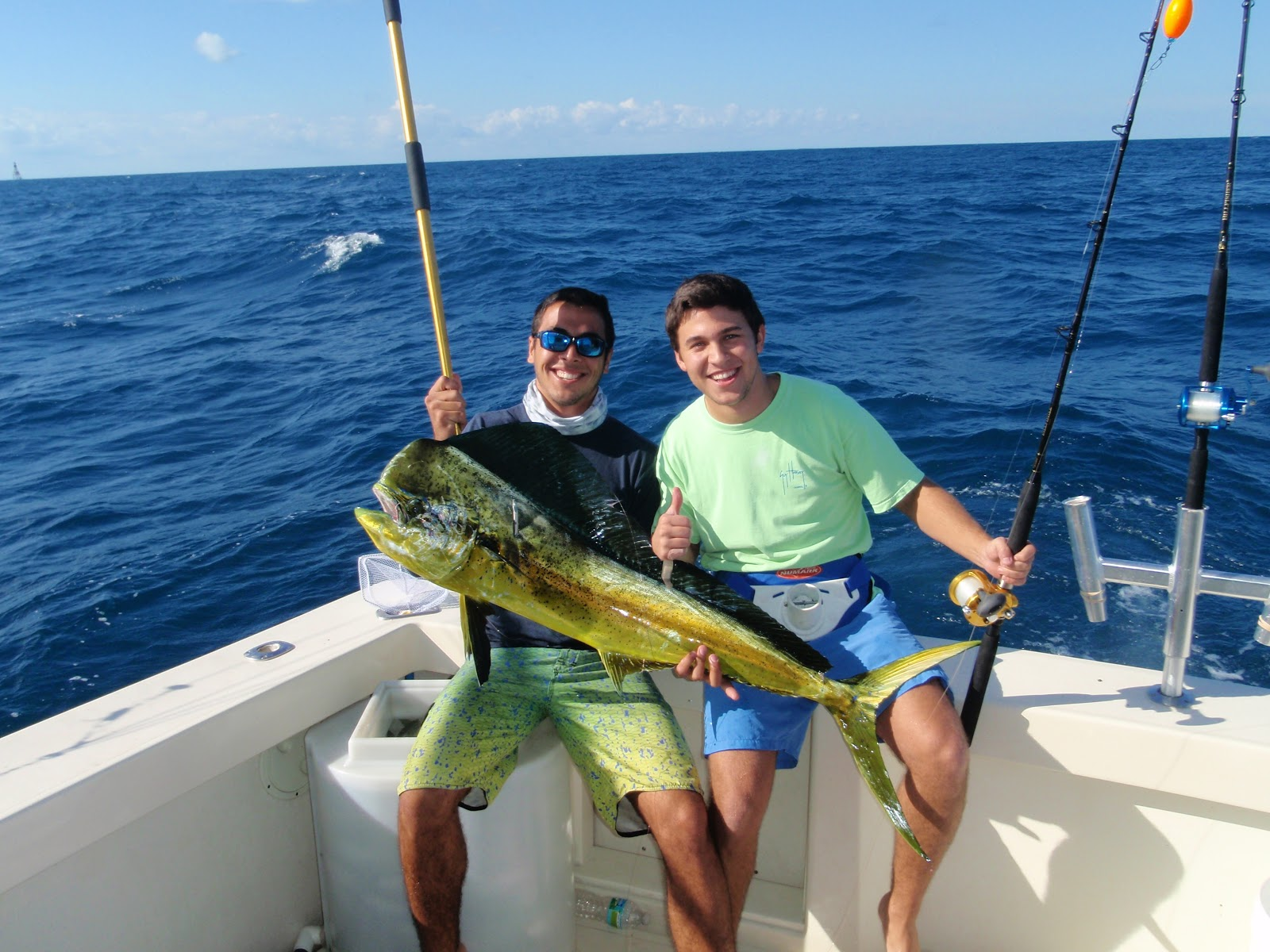 Charter fishing in miami double threat charters for Fishing in miami