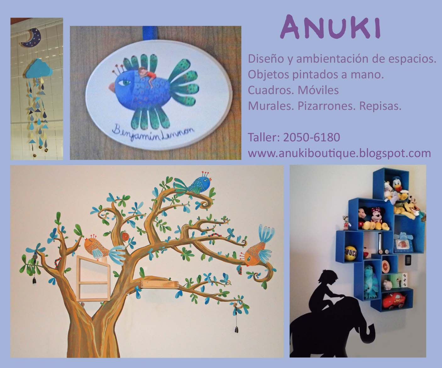 Anuki boutique dise o de habitaciones infantiles for Diseno de habitaciones infantiles