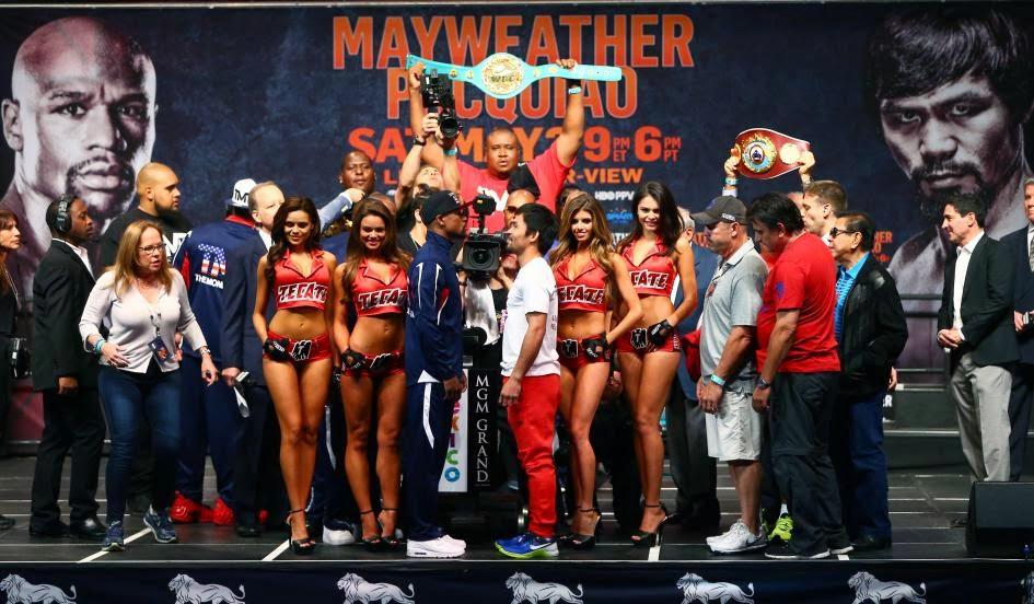 El Boxeo regresó con la pelea de Mayweather vs Pacquiao