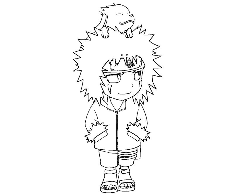 kiba coloring pages - photo#11