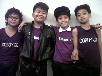 Coboy Junior merupakan grup musik asal Indonesia yang terdiri dari ...