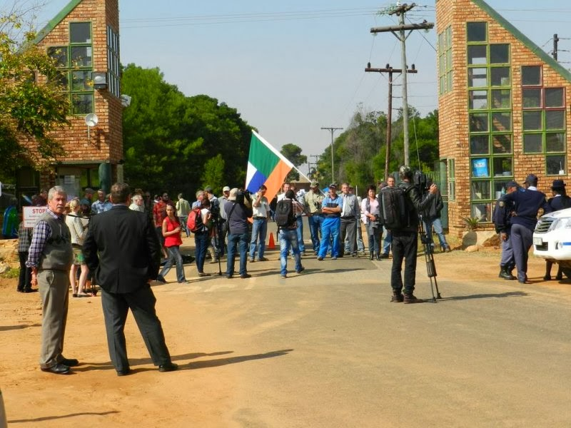 The commotion at Kleinfontein – May 2013