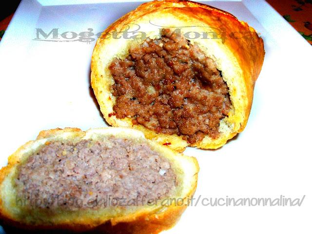 Riciclo creativo pane - polpettone in crosta