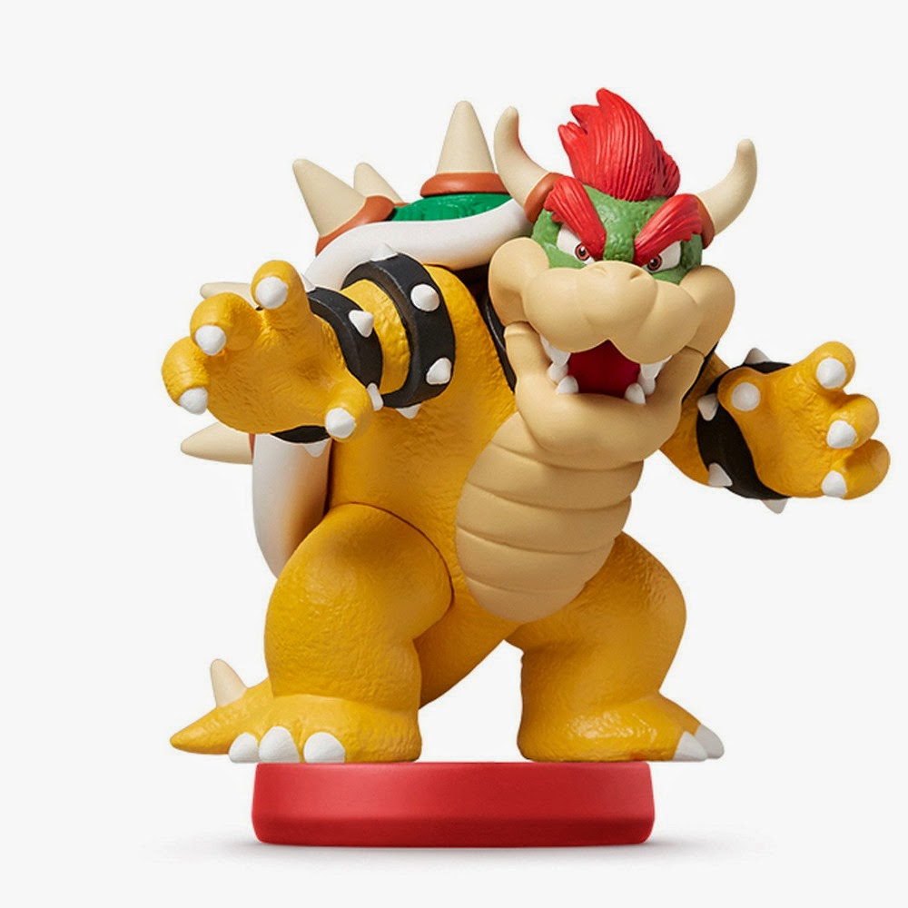 JUGUETES - NINTENDO Amiibo : Figura Bowser   (20 Marzo 2015)   Videojuegos   Muñeco   Super Mario Collection  Plataforma : Wii U