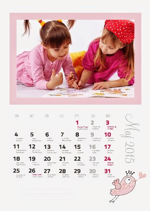 Fotokalendarz Ptaszki. Projekt z paczki