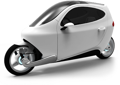 Lit Motors Unveils Self Balancing Electric Vehicle The C-1