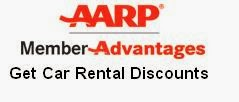AARP Car Rental Discounts