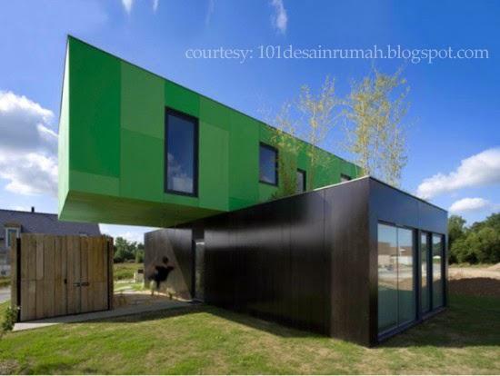 Desain Rumah Ideal: 10 Rumah yang Terbuat dari Kontainer