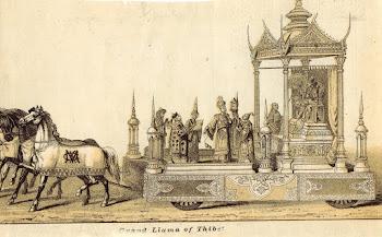 DALAI LAMA OLD ENGRAVING / DALAI LAMA GRAVURE ANCIENNE