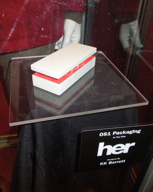 Her OS1 packaging film prop