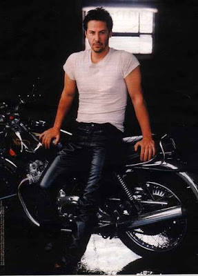 Keanu Reeves Leather Pants