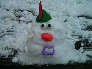 mr snow head