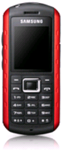 Samsung Mobile B2100: Another Cheap Low-end Cell Phone with Shock, Water and Dust Resistant