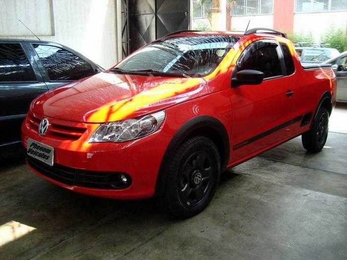 Saveiro Trooper 2011 Cabine Estendida Vermelha - Preço R$ 39.500