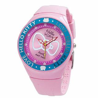 jam tangan hello kitty anak