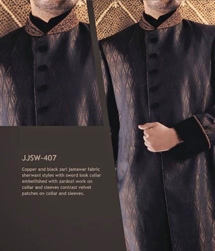 Junaid Jamshed Sherwani Designs