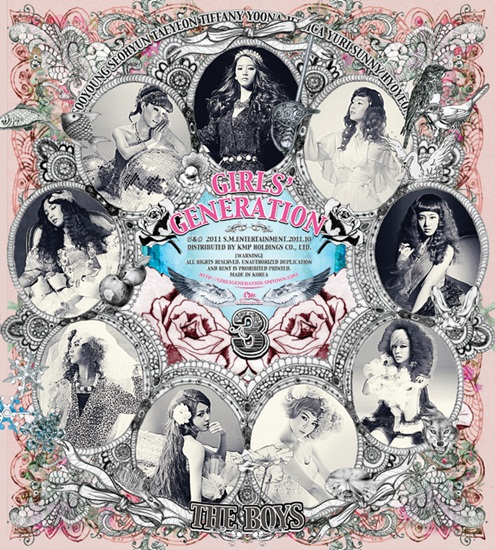 "NEWS] SNSD unveils album cover and tracklist for ""The Boys"" ~ Daily K ..."