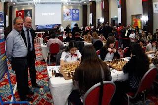 Echecs en Turquie : Russie 3-1 Turquie lors de la ronde 7 © site officiel