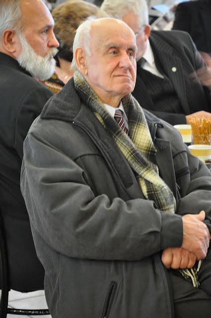 Feliks Przyborowski, autor wspomnień na zebraniu PTTK, Końskie 2011. Fot KW