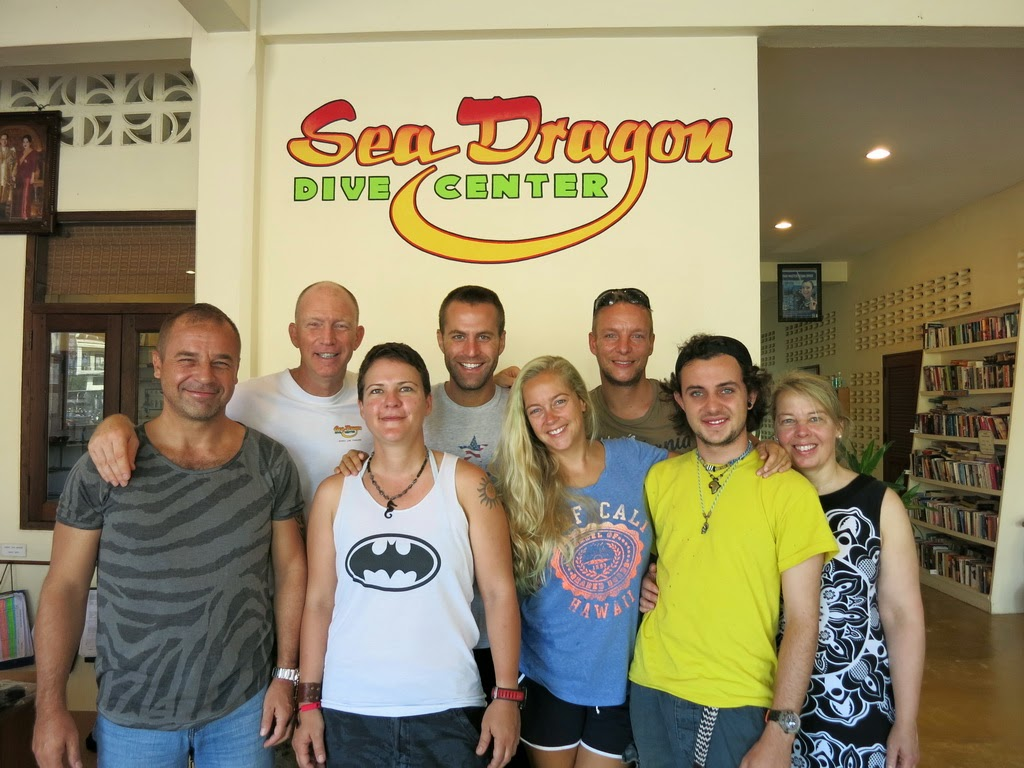 PADI IDC April 2015 in Khao Lak, Thailand passed the half way mark