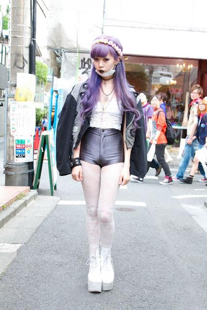 Juria's punk style