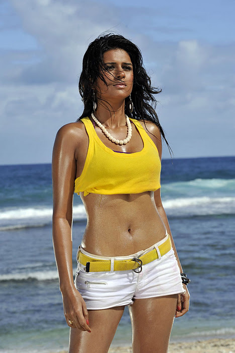 1 - Dusky slim Shraddha Das hot beach pics 