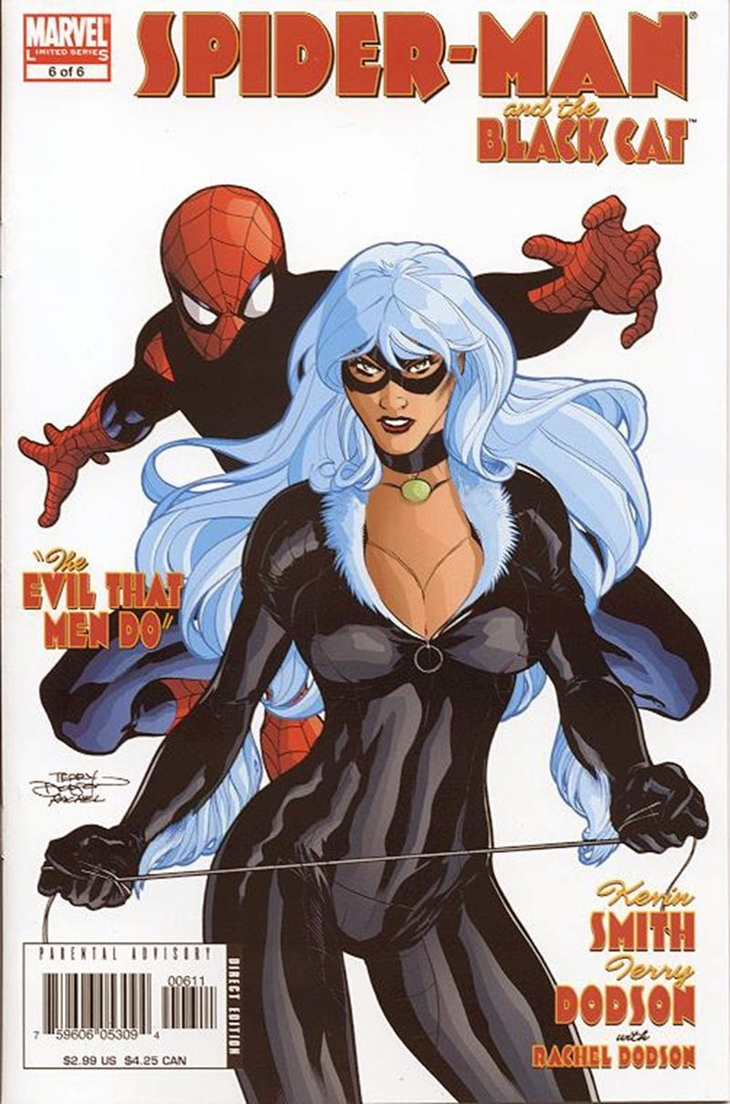 Homem-Aranha e Gata Negra - O mal nos corações dos Homens #6