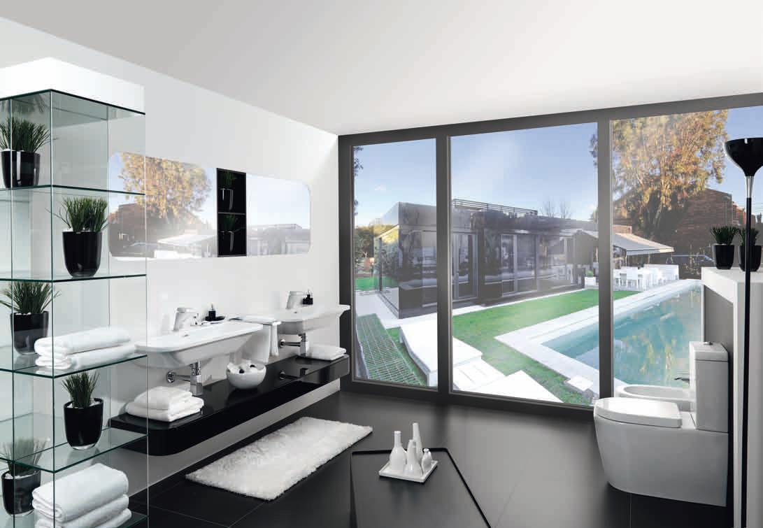 Baños Diseno Porcelanosa:cero Modular, viviendas de diseño asequibles