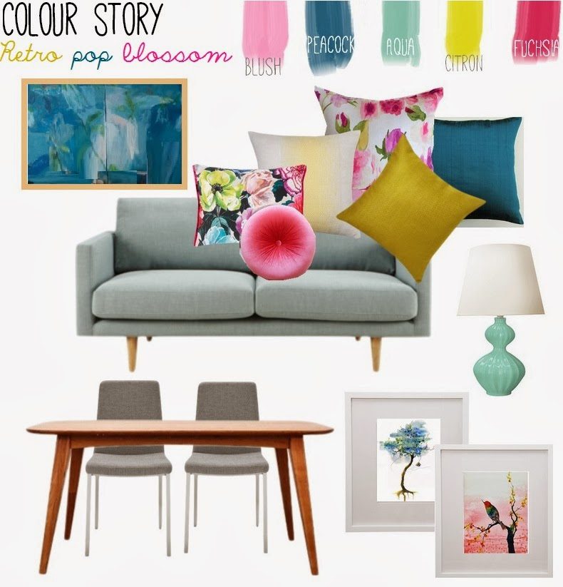 Amy MacLeod - Bird Interiors colour story concept