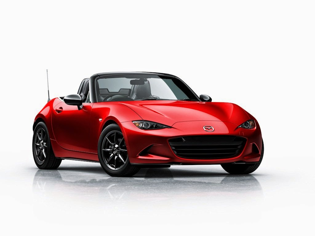 The roadster is back mazda reveals all new mx 5