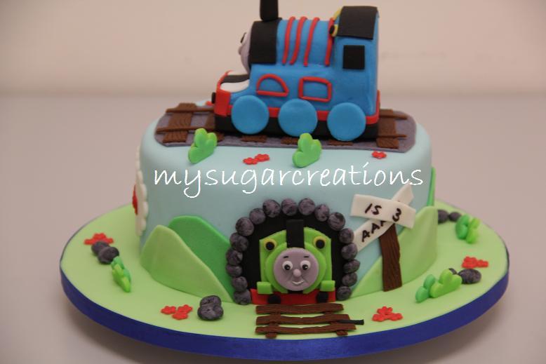 My Sugar Creations M Thomas & Friends Cake