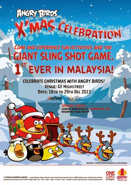 18 Dec 2013 Wed 29 Dec 2013 Sun Angry Birds X mas Celebration