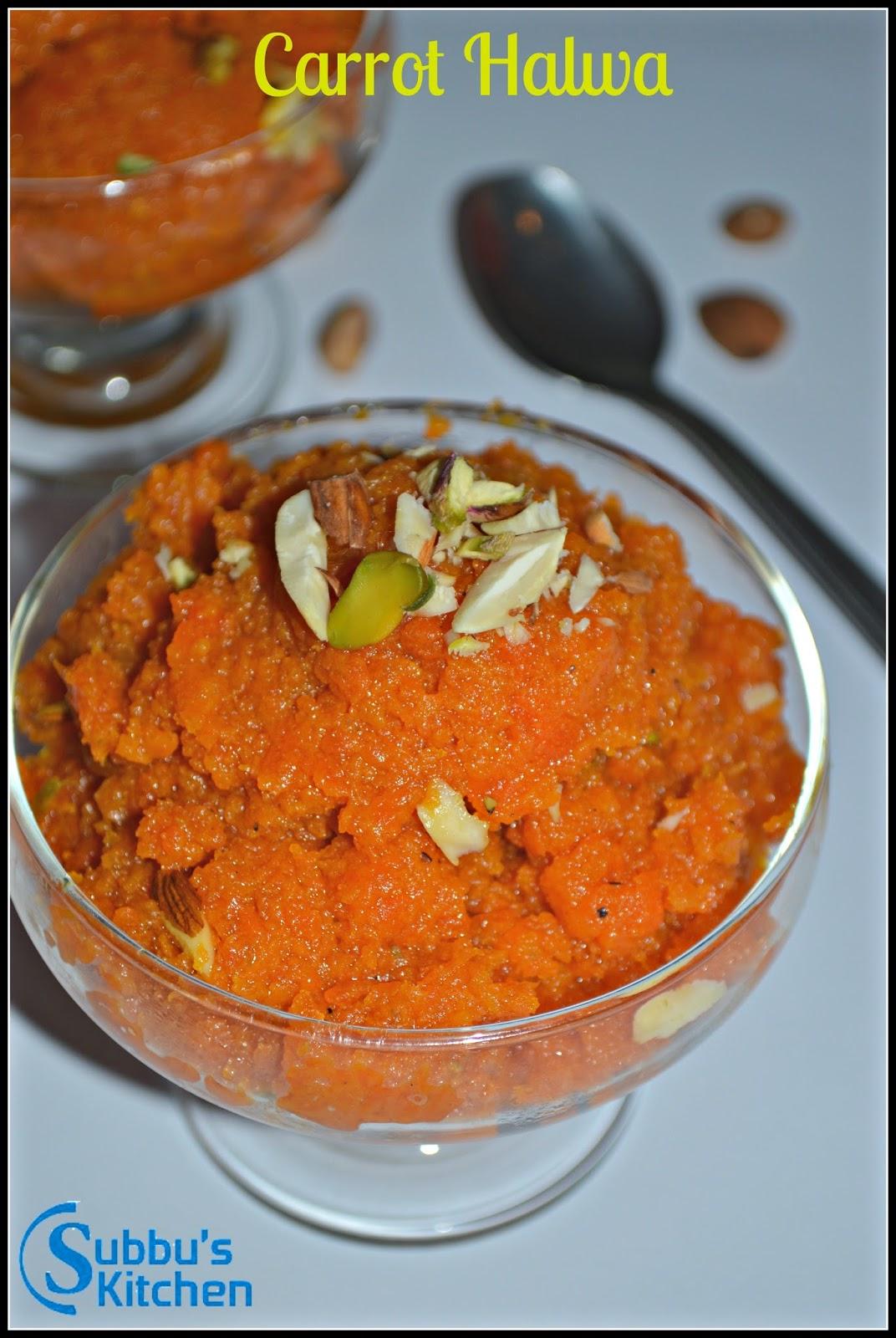 Carrot Halwa(Gajar ka Halwa)