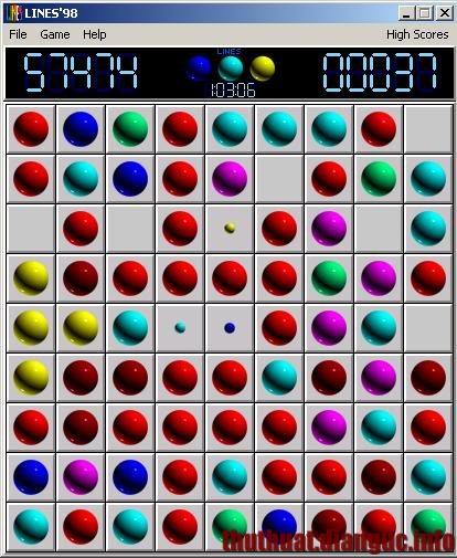 Download tải game Line 98 cũ mà hay – Game xả stress, rèn luyện trí tuệ