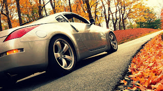 Nissan 350z Autumn HD Wallpaper
