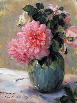 Painting: Artist Robin Lucile Anderson